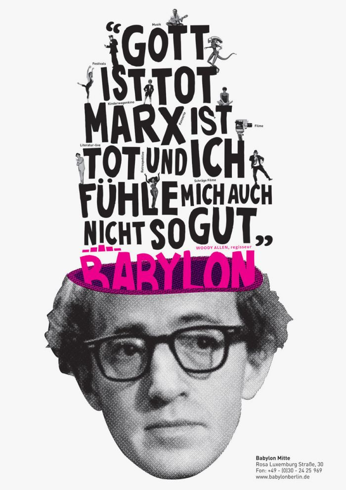 abenteuerdesign for Kino Babylon | Babylon Kino Berlin