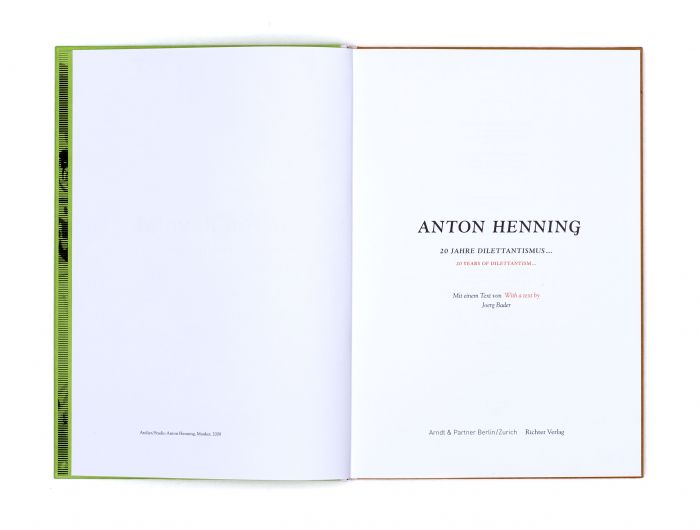 abenteuerdesign for Anton Henning | Anton Henning