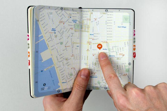 abenteuerdesign for Moleskine | Moleskine & MoMA: NYC Planner