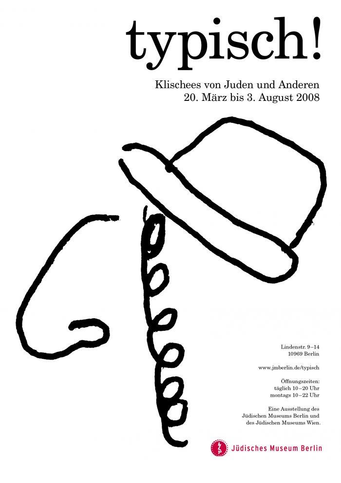 abenteuerdesign for Jüdisches Museum Berlin | Typisch! Klischees von Juden und Anderen