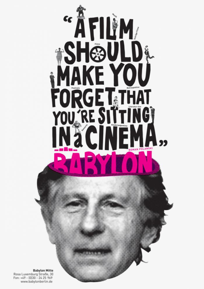 abenteuerdesign for Kino Babylon | Babylon Kino Berlin
