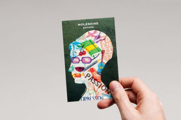 abenteuerdesign for Moleskine   Moleskine Portraits Event