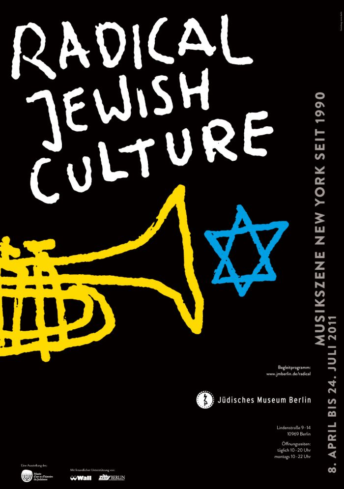 abenteuerdesign for Jüdisches Museum Berlin | Radical Jewish Culture