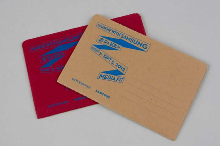 abenteuerdesign for Moleskine – Samsung | Moleskine @ IFA