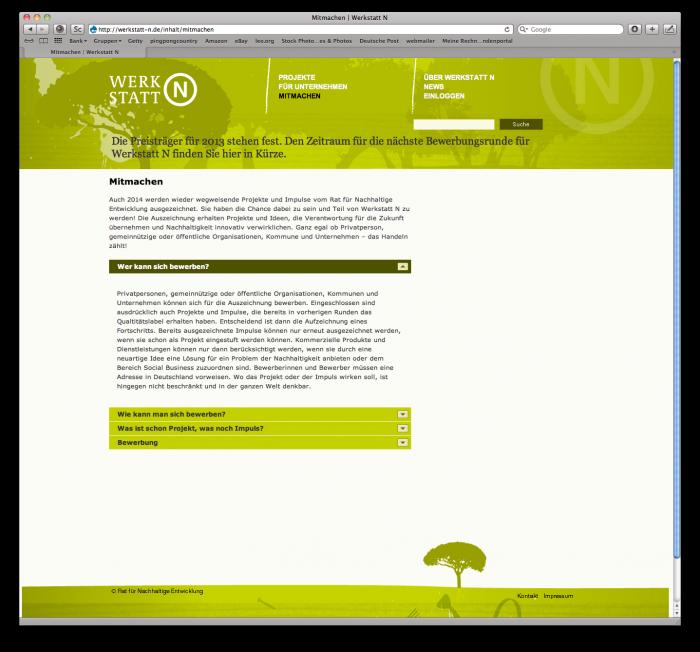 abenteuerdesign for RAt für Nachhaltigkeit | Werkstatt N