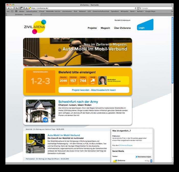 abenteuerdesign for Zivilarena | Zivilarena – Online Plattform für Partizipation